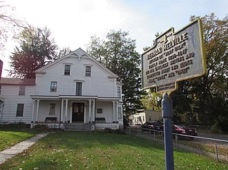 Herman Melville House (Troy, New York) - Image: Herman Melville House Lansingburgh