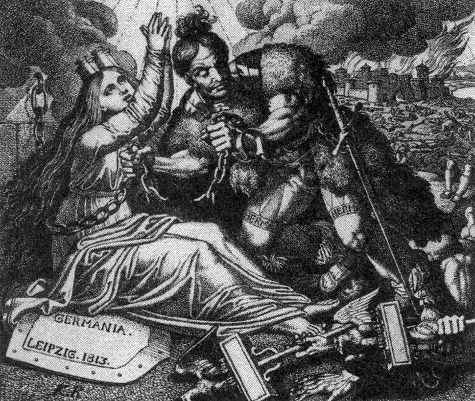 Hermann befreit Germania (1818, Karl Russ)