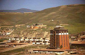 Hezuo - Monastery in Hezuo