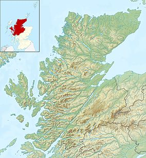 Map showing the location of Kintail National Scenic Area