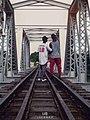 Hiking On A Bridge.jpg