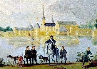 Hillerød - Hillerødsholm, c. 1584