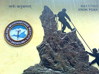 Tenzing Norgay - May (you) climb from peak to peak