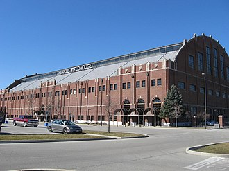 Butler Bulldogs - Hinkle Fieldhouse, a National Historic Landmark.