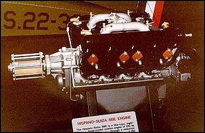Hispano-Suiza 8 - Hispano-Suiza 8Be