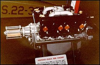 Hispano-Suiza 8 - Hispano-Suiza 8Be