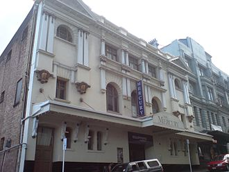 Mercury Theatre, Auckland - The Mercury Theatre.