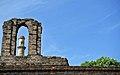 History piping through the ancient window at Kevda Masjid Champaner.jpg
