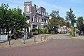 Hoek Pontanusstraat en Van Spaenstraat. Galgenveld. Nijmegen. Negentiende-eeuwse schil Neorenaissance.jpg