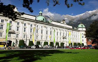 Hofburg, Innsbruck - Hofburg in Innsbruck, Austria