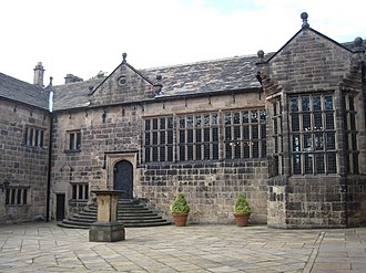 Hoghton Tower - Inner courtyard
