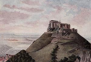 Hohenneuffen Castle - Hohenneuffen Castle in 1822