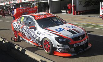 James Courtney - Courtney placed 6th in the 2014 V8 Supercars Championship driving a Holden VF Commodore