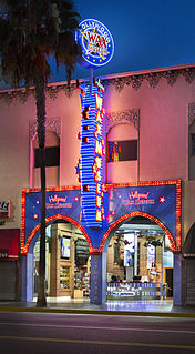 Wax museum in Los Angeles, California
