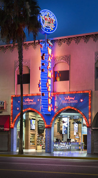 Hollywood Wax Museum - Image: Hollywood Wax Museum Hollywood CA