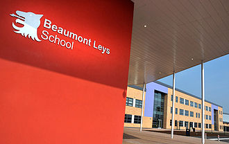 Beaumont Leys School - Image: Homebeaumont