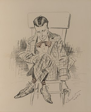 Homer Davenport - Davenport caricature of Hearst, 1896