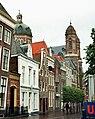 """Hoorn, the street """"Grote Noord"""", view to the Koepelkerk.JPG"""