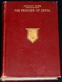 Second edition cover of The Prisoner of Zenda