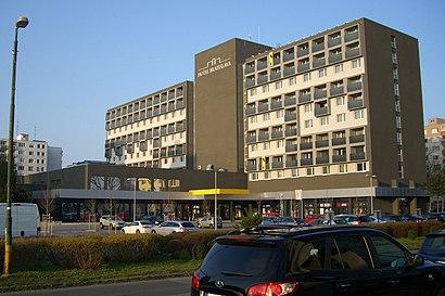 Ako do Hotel Bratislava hromadnou dopravou - O mieste