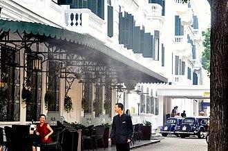 Hoàn Kiếm District - Image: Hotel Metropole Hanoi 02