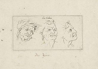 "Sébastien Leclerc (1637–1714) - ""La colere"", 1696"