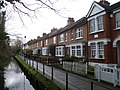 Houses overlooking the New River near Gentleman's Row, Enfield.jpg