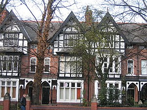 Westcotes - Victorian housing in Narborough Road