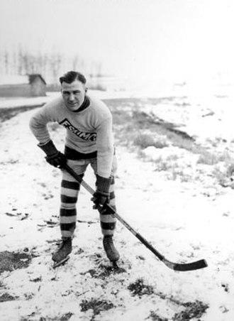 Edmonton Eskimos (ice hockey) - Image: Howard Dea