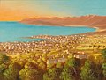 Hubert Sattler (attr.) - View of Cannes.jpg