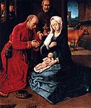 Hugo van der Goes - Adoration of the Magi - central panel triptych.jpg