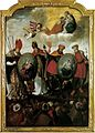 Hungarian saints altar painting Győr 1642.jpg