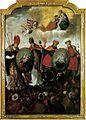 Hungarian saints altar painting Győr 1642.jpg