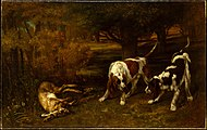 Hunting Dogs with Dead Hare MET DT1961.jpg