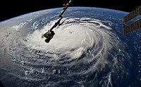 Hurricane Florence Viewed from the Space Station.jpg