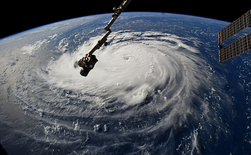 ملف:Hurricane Florence Viewed from the Space Station.jpg