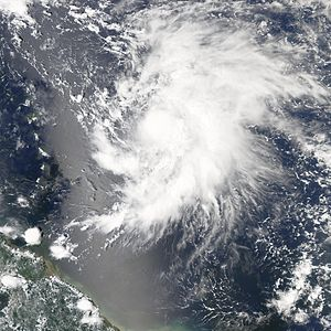 Hurricane Philippe (2005) - Image: Hurricane Philippe on September 18 2005