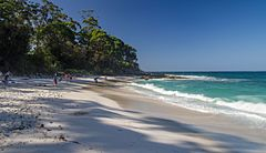 Hyams Beach In The Jervis Bay Territory Which Is Renowned For Its Brilliantly White Sand
