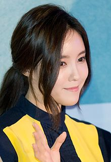Hyomin at Love Jinx vip premiere, February 2014 01.jpg