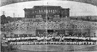 I.M. Terrell High School - Image: I.M. Terrell High School, 1921