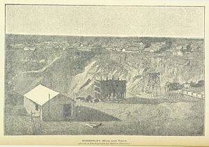Charles Coghlan (politician) - Kimberley Mine and Town, 1891