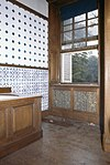 interieur, eerste verdieping, badkamer, tegelwand - ambt delden - 20260162 - rce