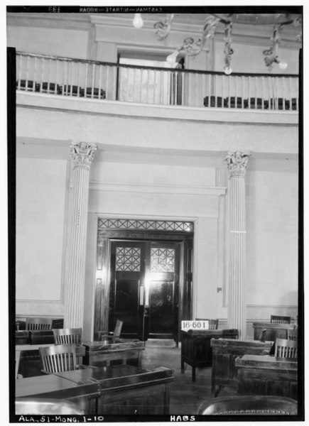 File:INTERIOR (CHAMBER OF THE HOUSE) - 2d FLOOR - Alabama State Capitol, Dexter Avenue, Montgomery, Montgomery County, AL HABS ALA,51-MONG,1-10.tif
