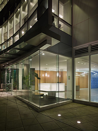 Institute for Systems Biology - This is the front entrance of Institute for Systems Biology in Seattle's South Lake Union neighborhood at 401 Terry Ave. N.