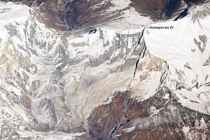 Annapurna IV - Image: ISS038 E 020918 front