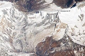 Annapurna IV - Image: ISS038 E 020918 front