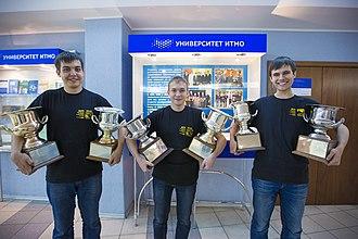 International Collegiate Programming Contest - ITMO team 2015