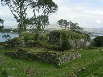 Dunboy Castle - Remains of Dunboy castle
