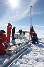 Ice core researchers from AWI drilling at the EastGRIP ice core site, Greenland 2.jpg