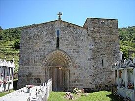 Mosteiro de Santo Estevo de Atán - Wikipedia, a enciclopedia libre